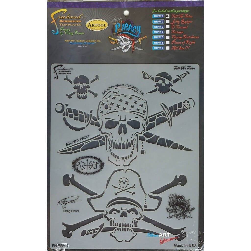 Artool Freehand Airbrush Template Piracy Tell No Tales