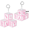 Photo/Balloon Holder Baby Blocks