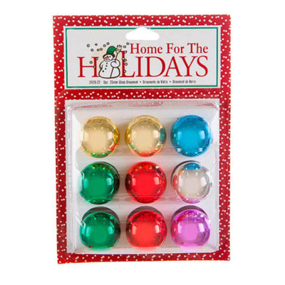 Metallic Glass Ball Ornaments