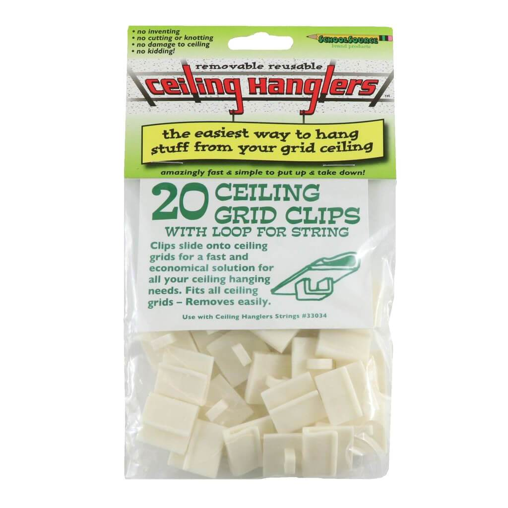 Ceiling Hanglers Ceiling Grid Clips 20pcs Per Pack