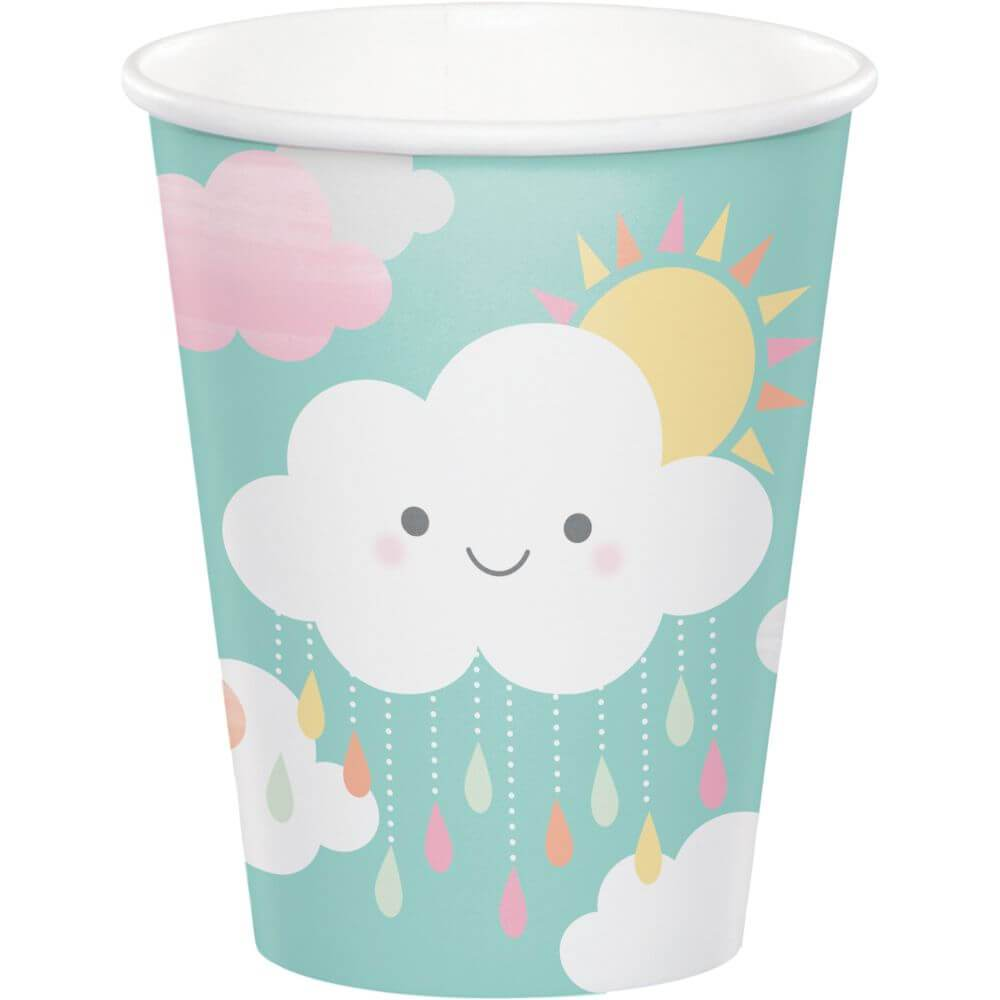 Sunshine Baby Shower, Paper Cup 9oz 8ct