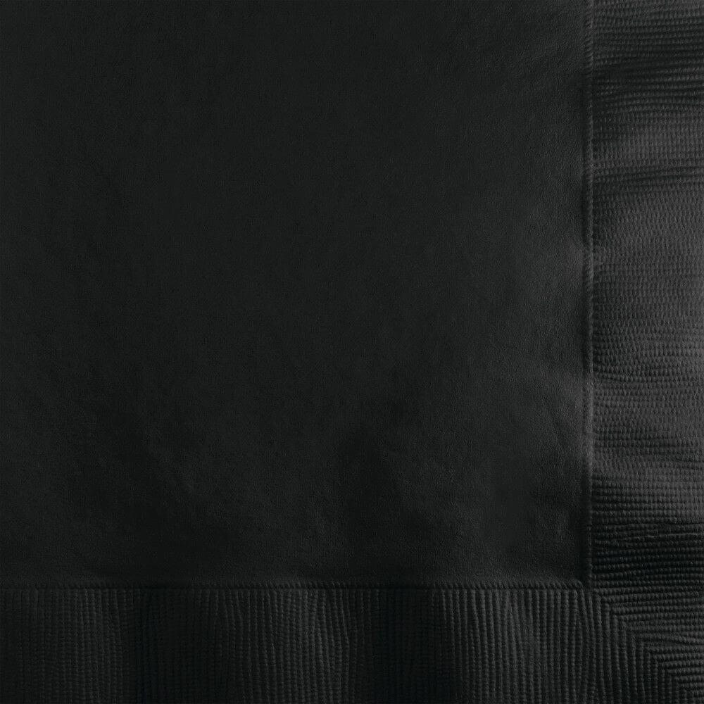 Black Velvet 2Ply Beverage Napkins 20ct