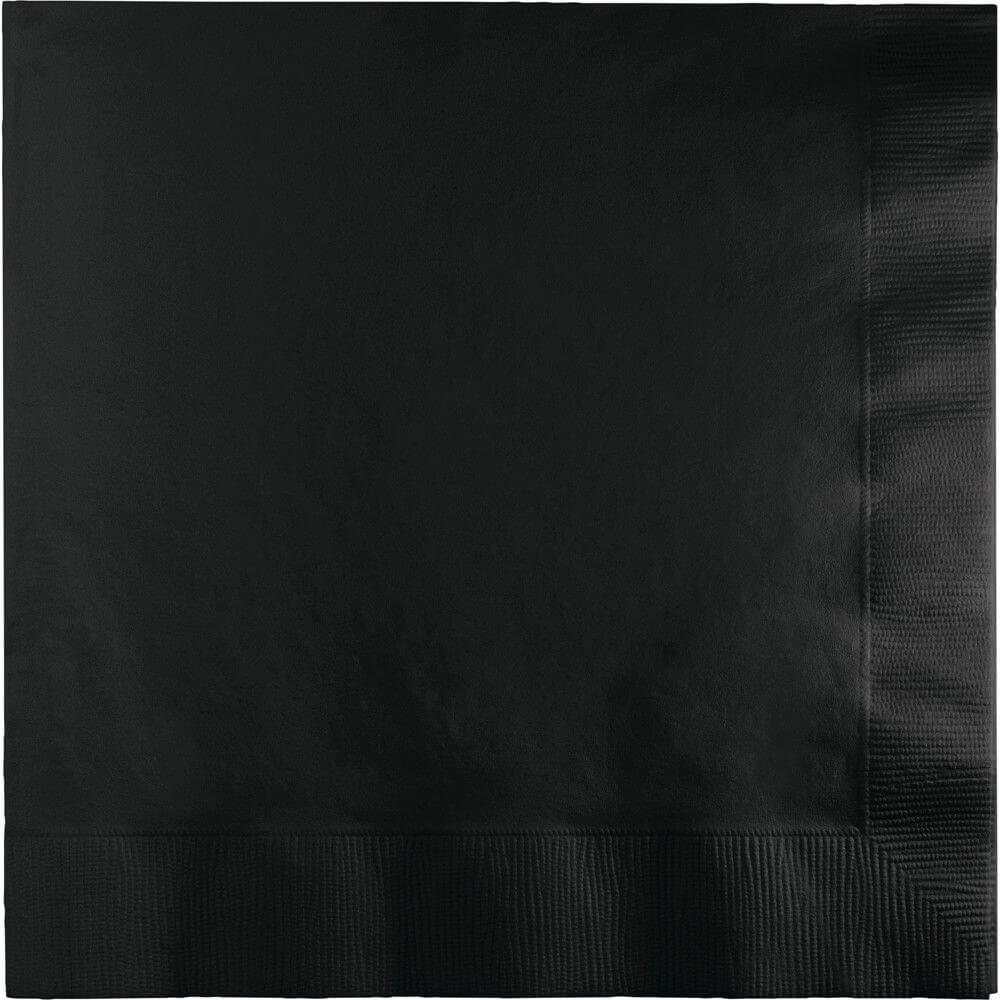 Lunch Napkin 25ct 3ply, Black Velvet