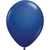 Latex Balloon 12in, Navy Blue Crystal Premium