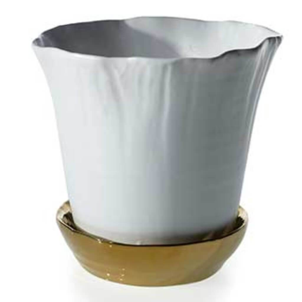 "DARLING POT 6.75""X 6.5"" POT/PL"