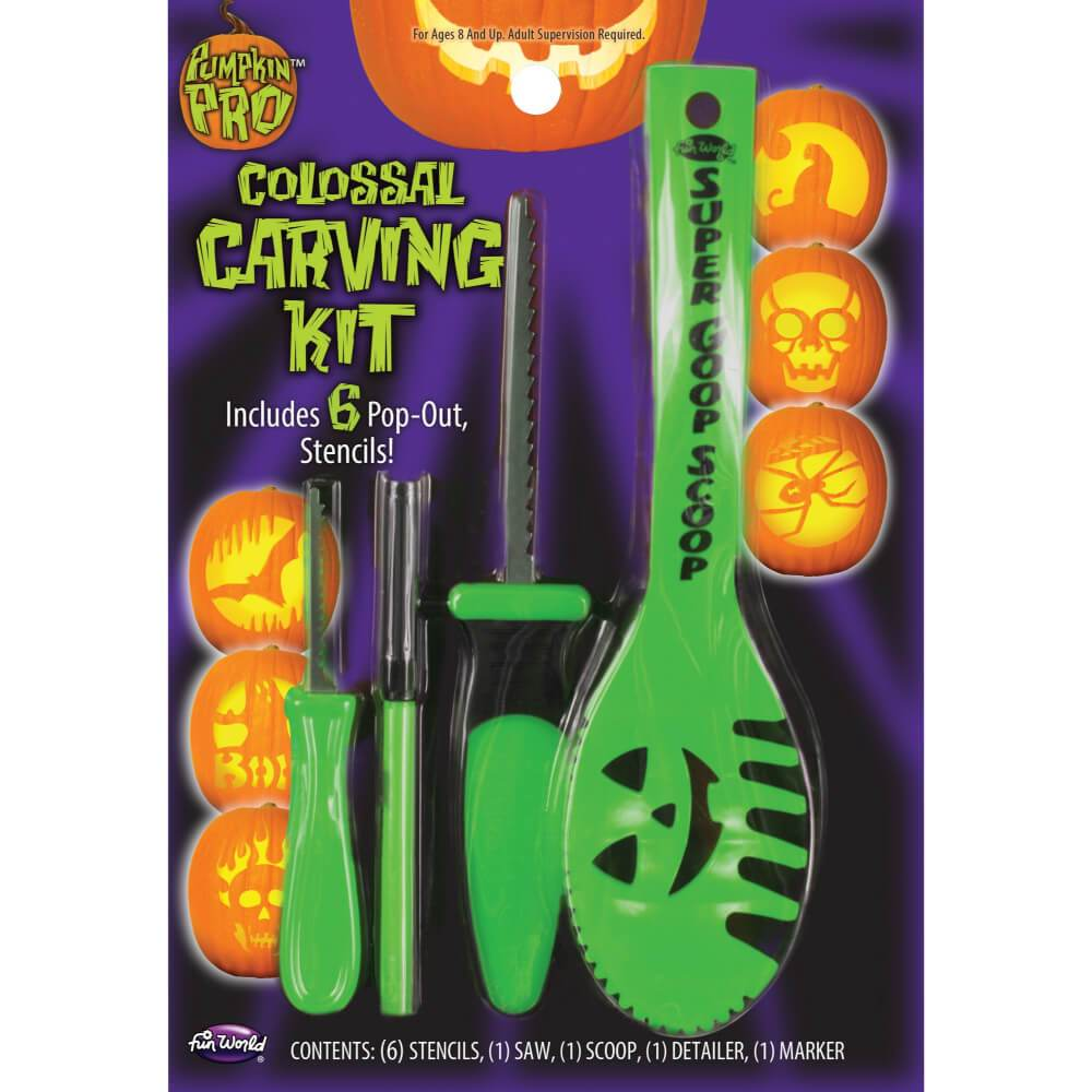 Colossal Carving Kit 10pc