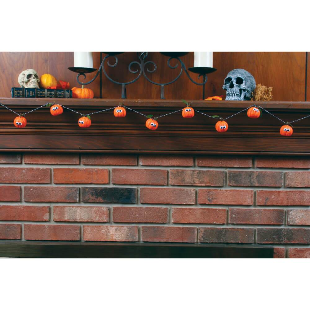 Friendly Garland Pumpkin 6ft