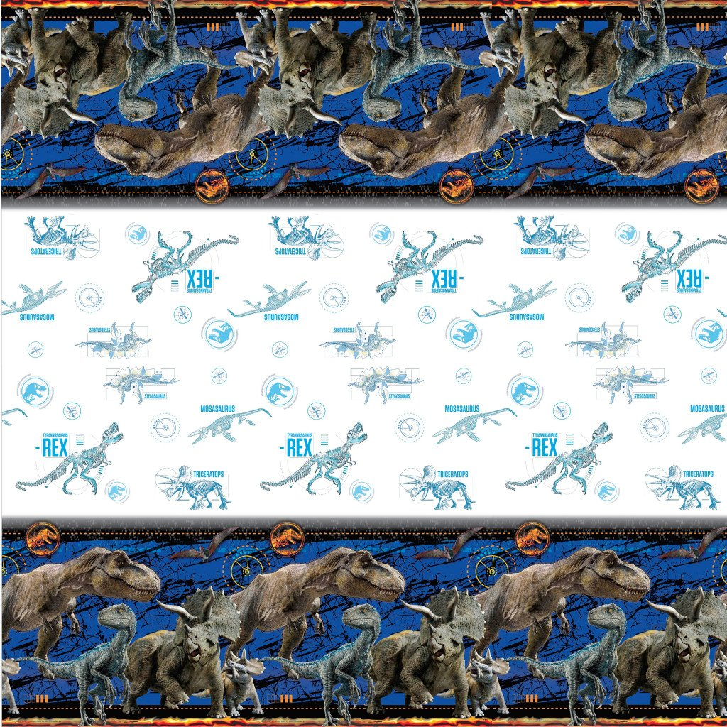 Recangular Table Cover, 54in x 84in Jurassic World