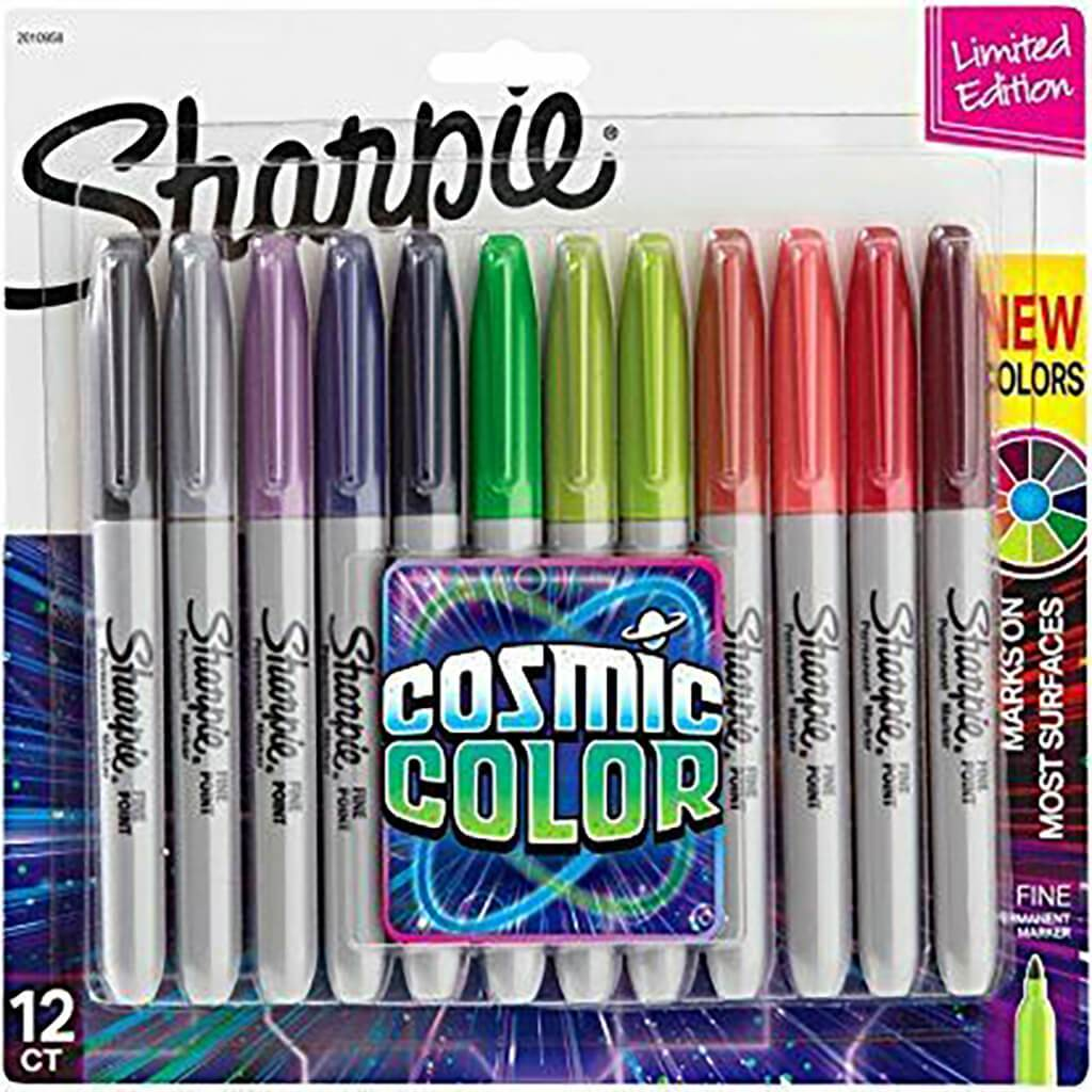 Cosmic Colors Marker Sets Fine 12ct