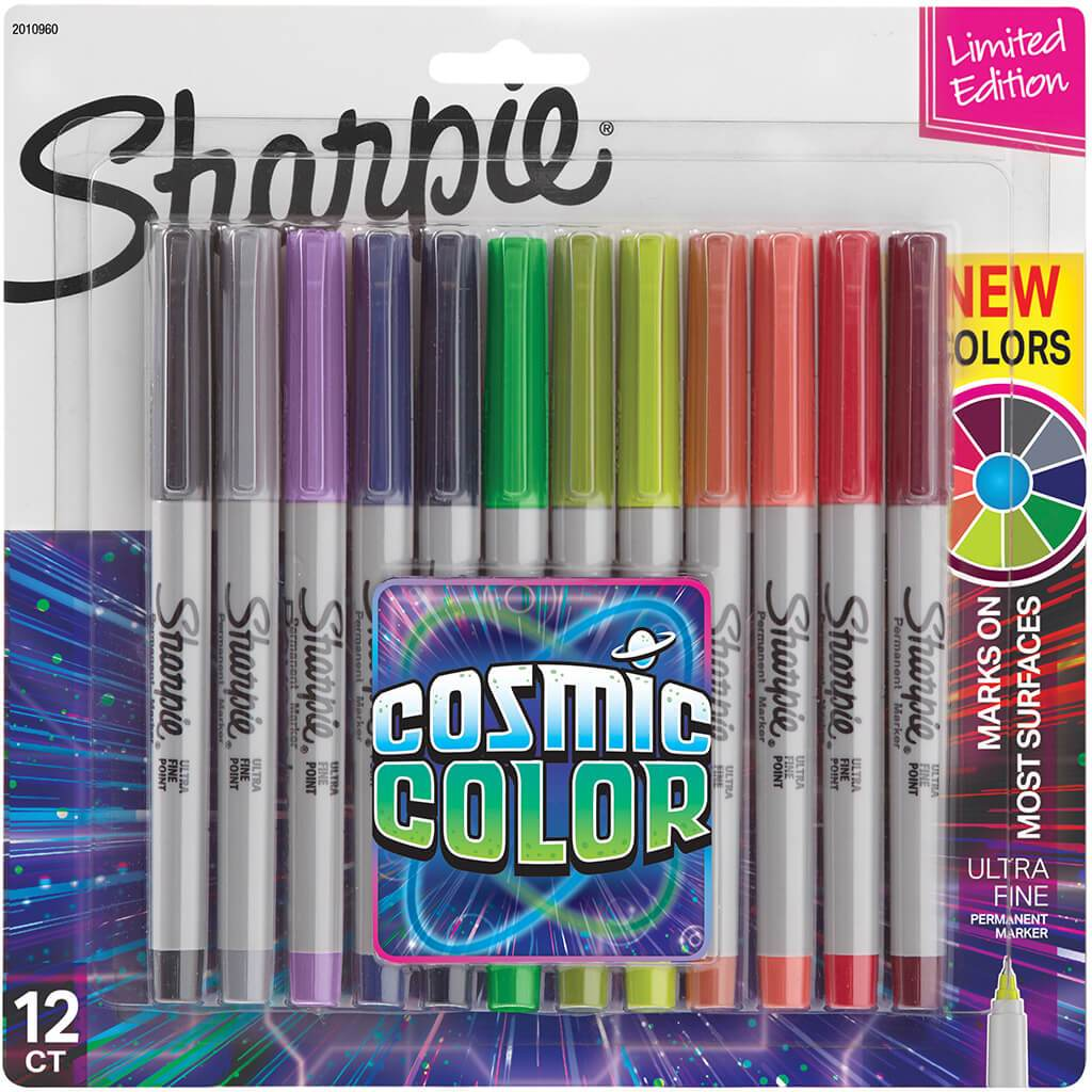 Cosmic Colors Marker Sets Ultra Fine 12ct