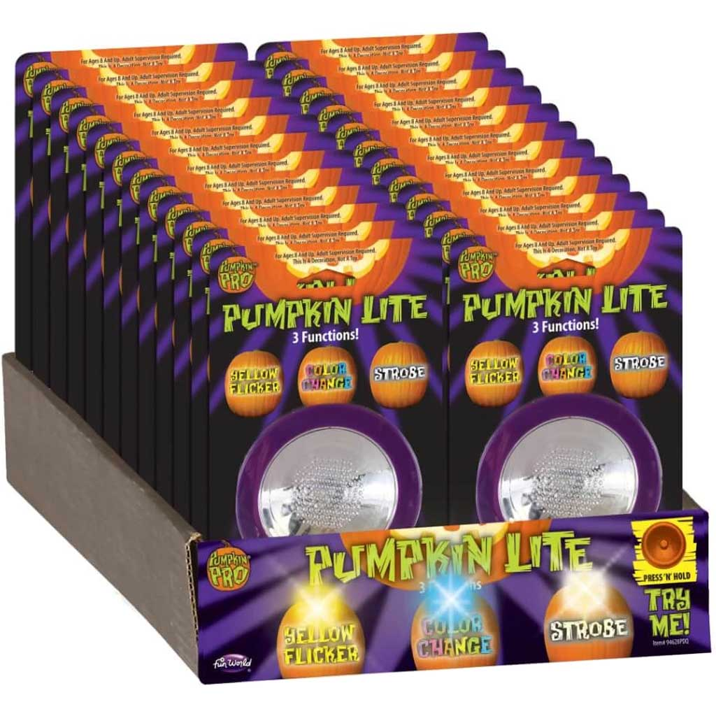 All In One Pumpkin Light