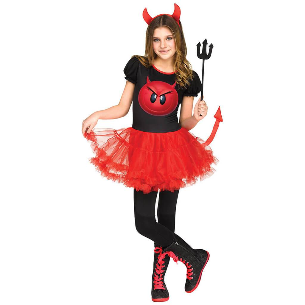 Emoji Devil Movie Costume