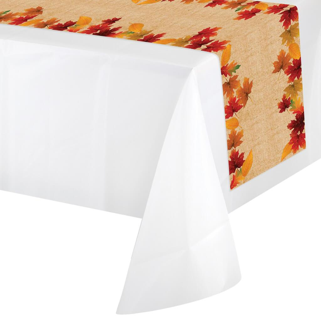 Fall Leaves Table Runner 14x84in