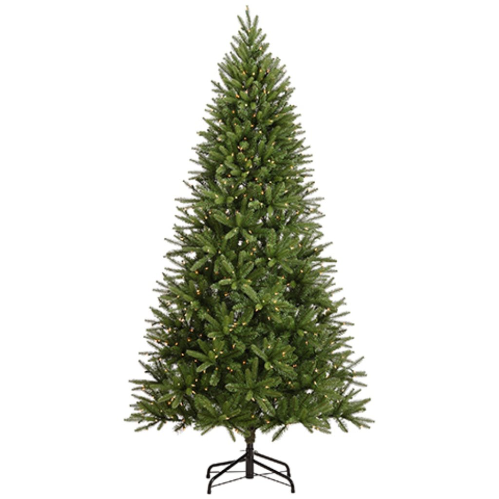 Foothill Pine Tree x1210 With 600 Clear Lights on Metal Stand