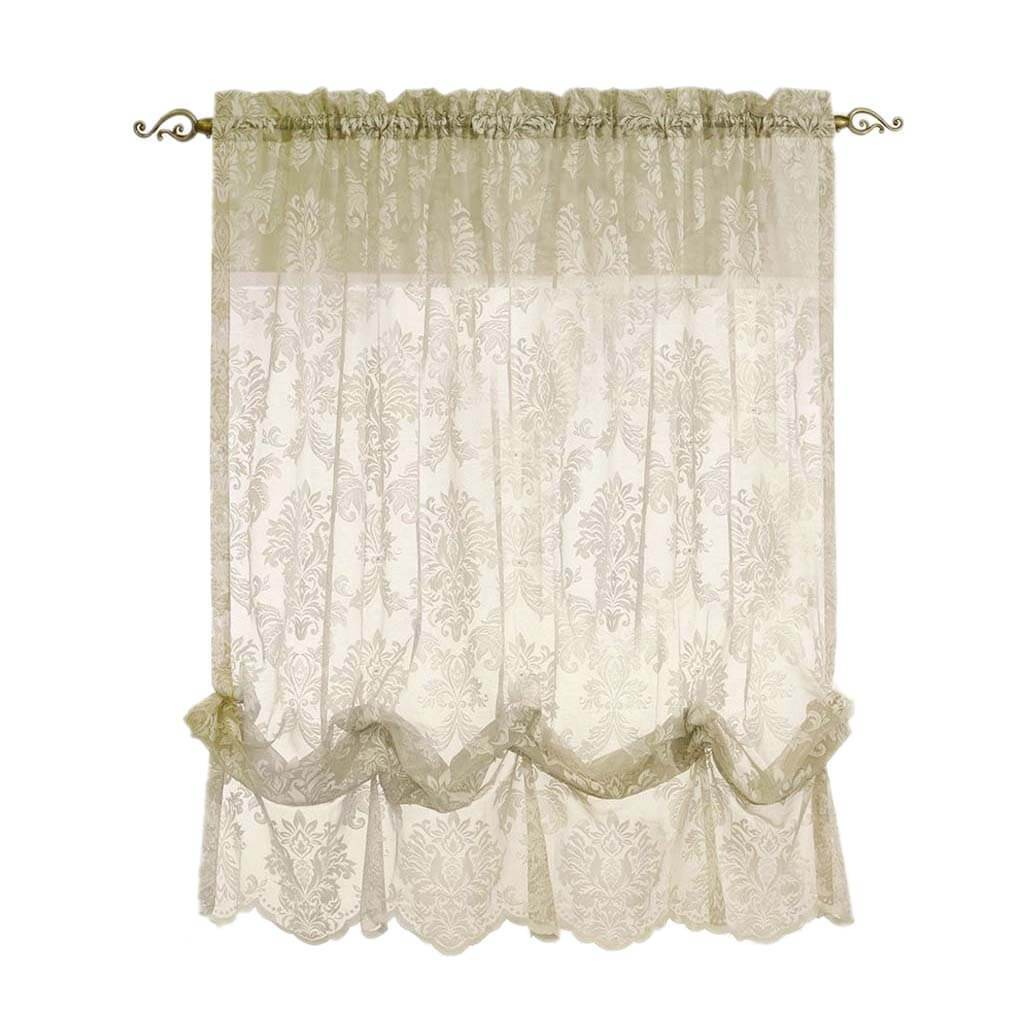 Columbus Tailored Balloon Curtains 55in x 63in