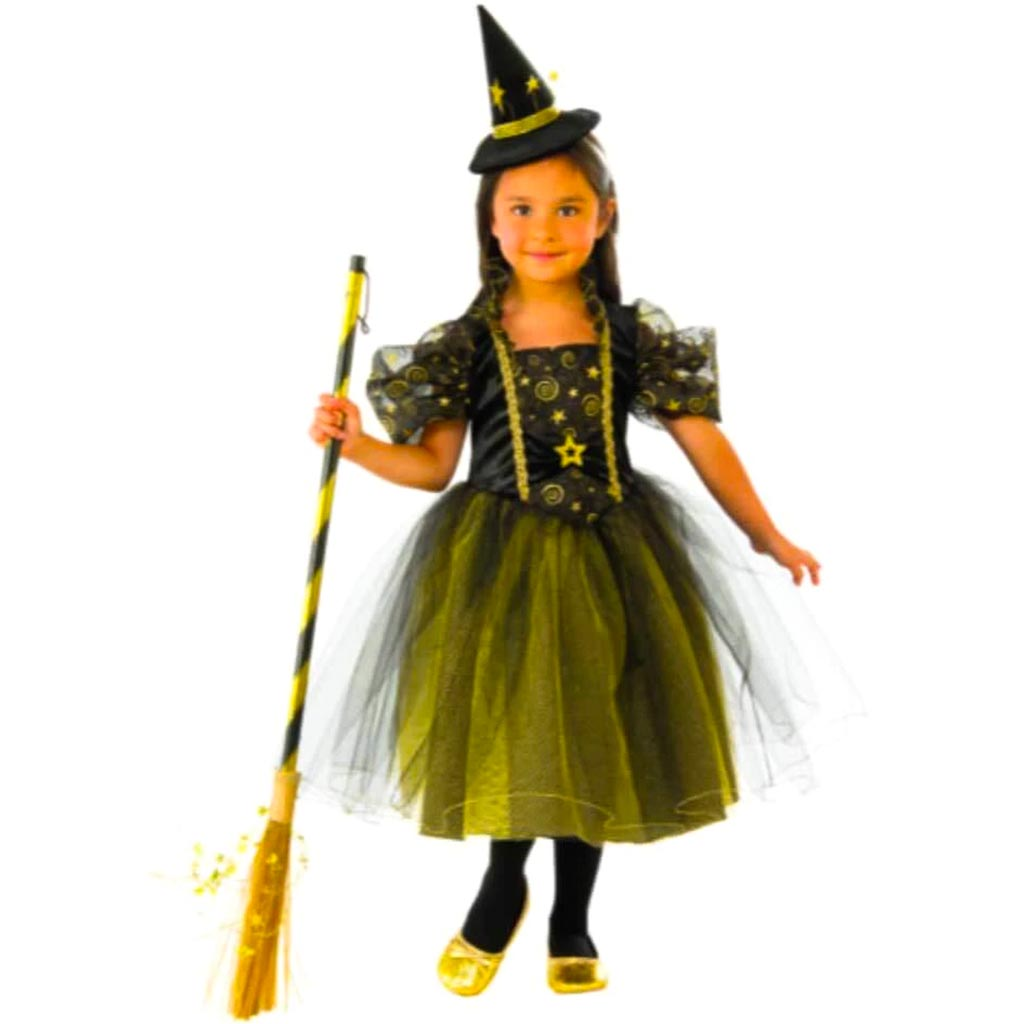 Golden Star Witch Costume