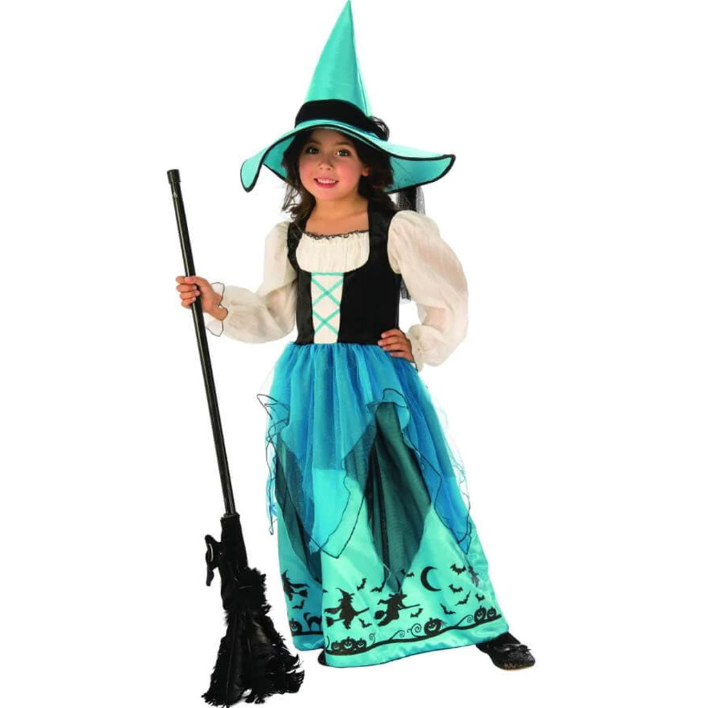 Turquoise Witch Costume