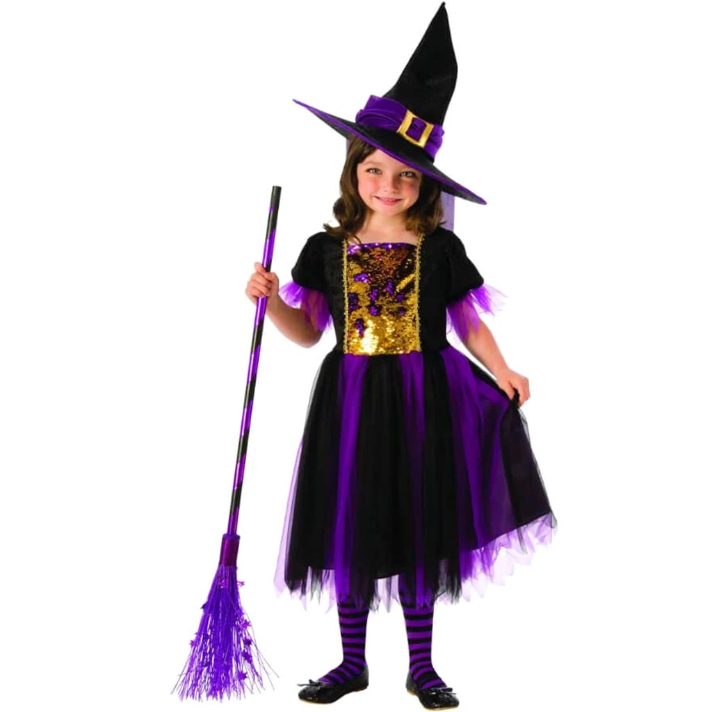 Color Magic Witch Costume