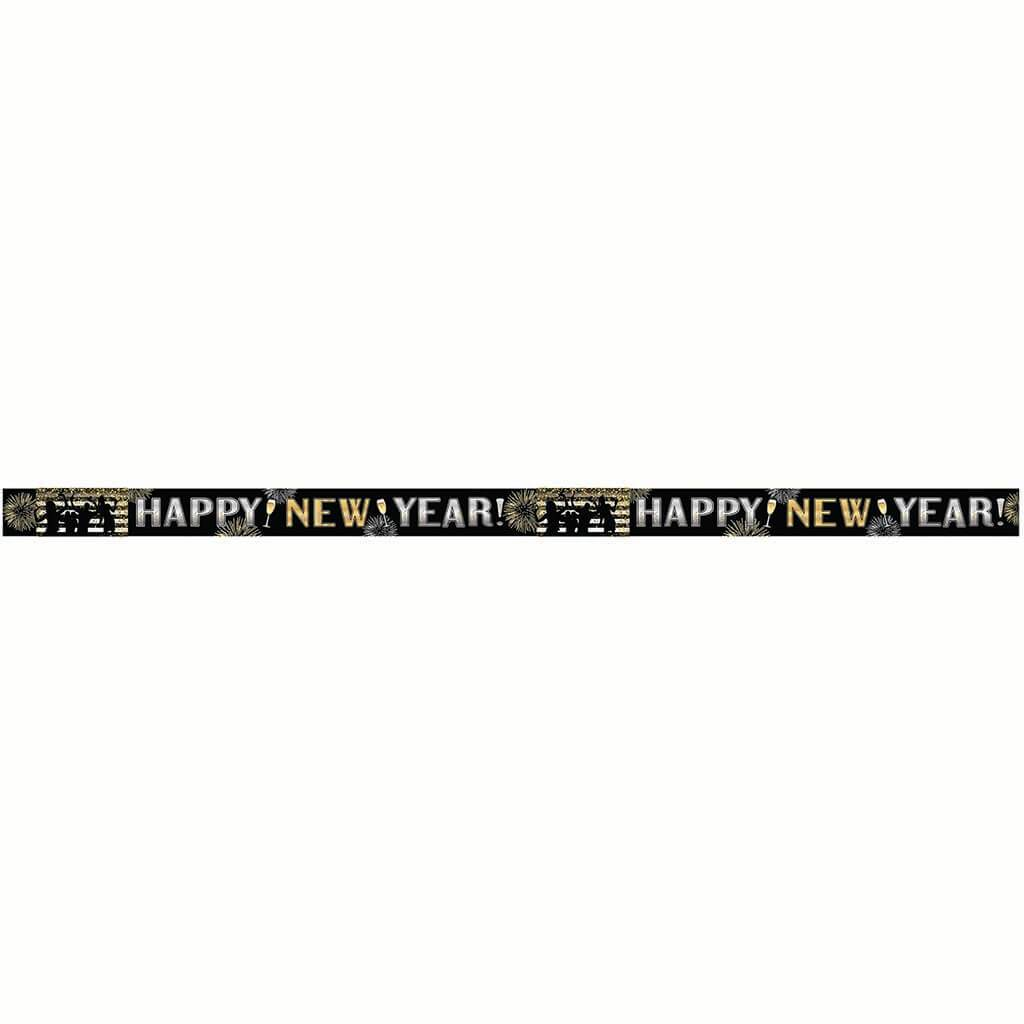 Banner New Year's Long Mylar