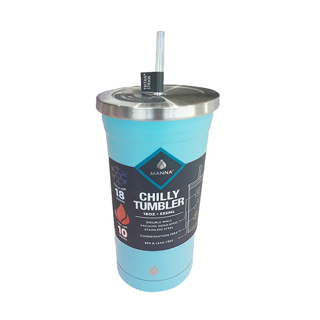 Chilly Tumbler With Straw 18oz / 532ml