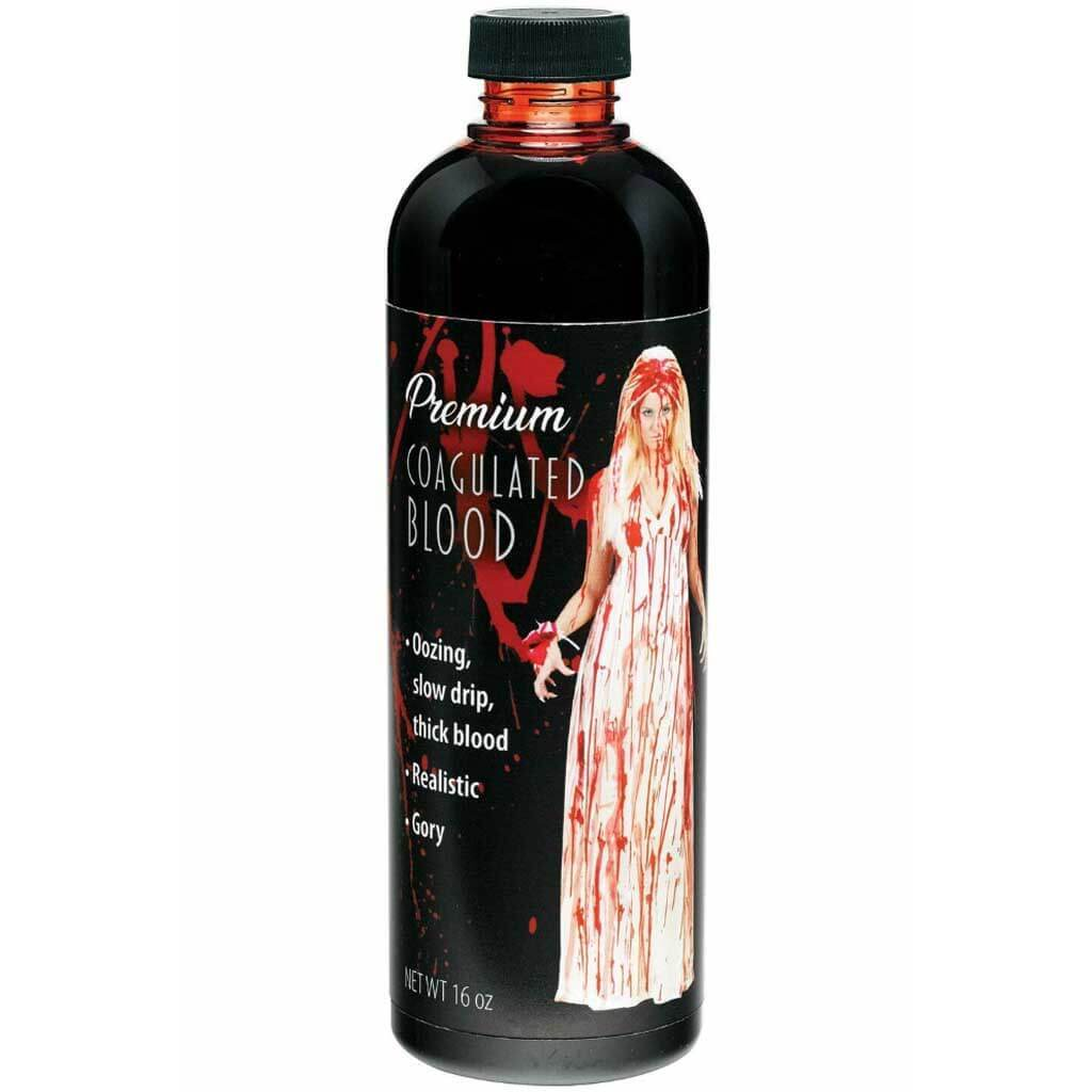 Coagulated Blood Halloween Makeup Bottle