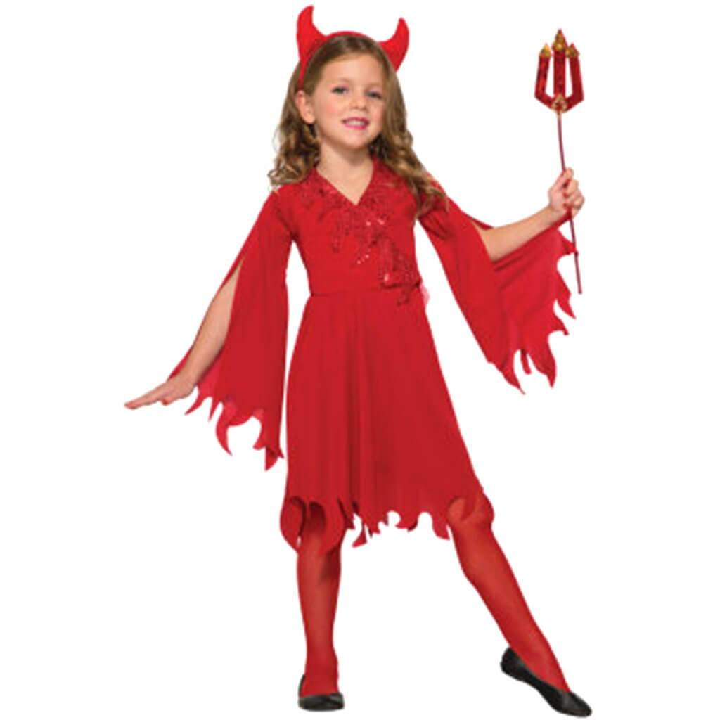 Delightful Devil Costume 8-10 Medium