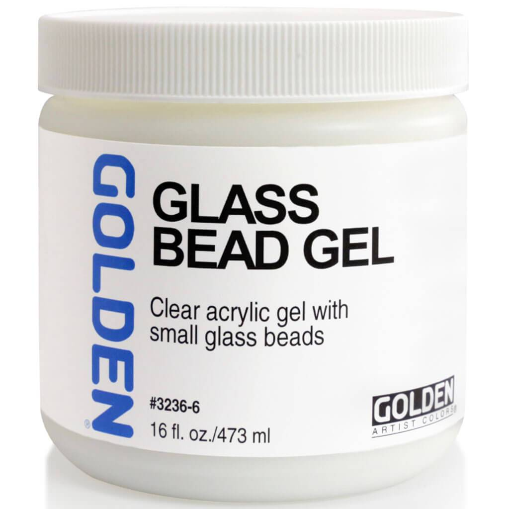 Acrylic Gel Medium Glass Bead 16oz