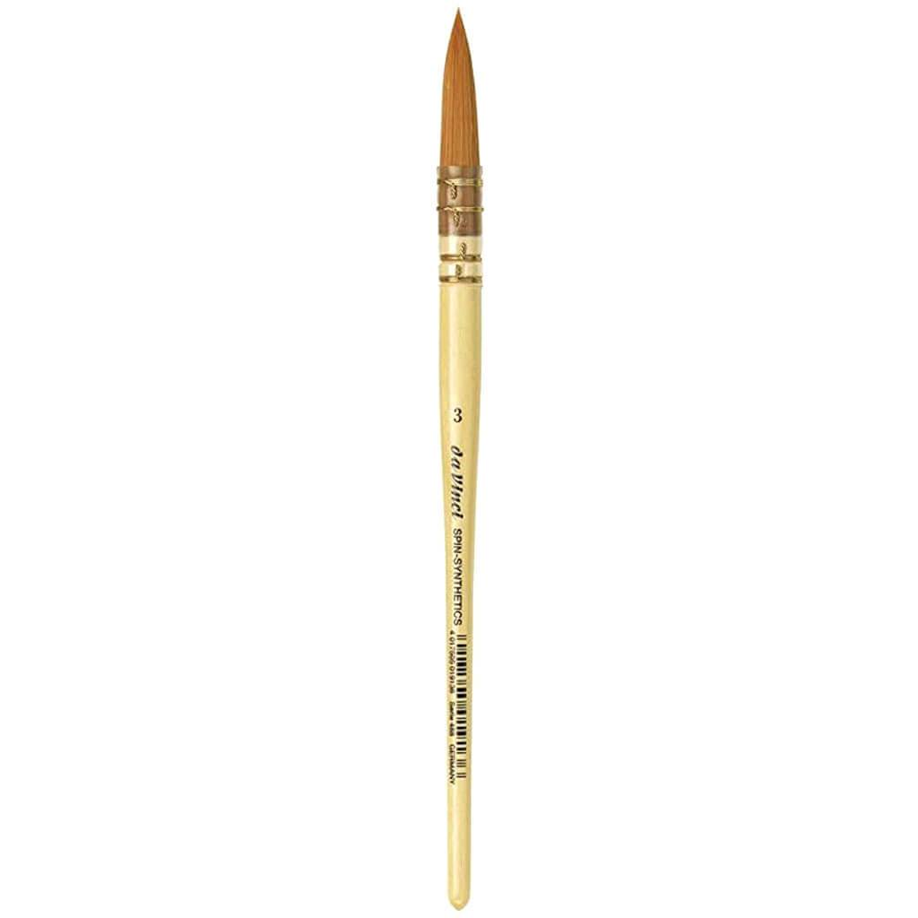 Series French Water Colour Brush, 3, Brown