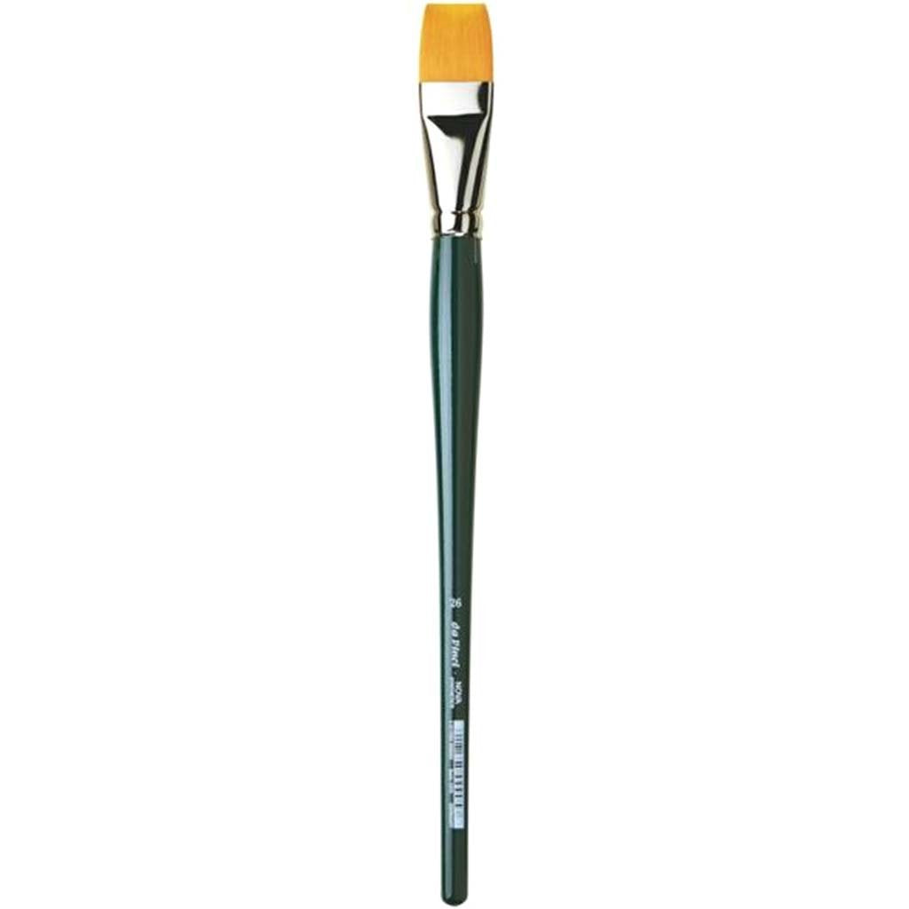 Nova Synthetic Bright Long Handle Brushes Size 26