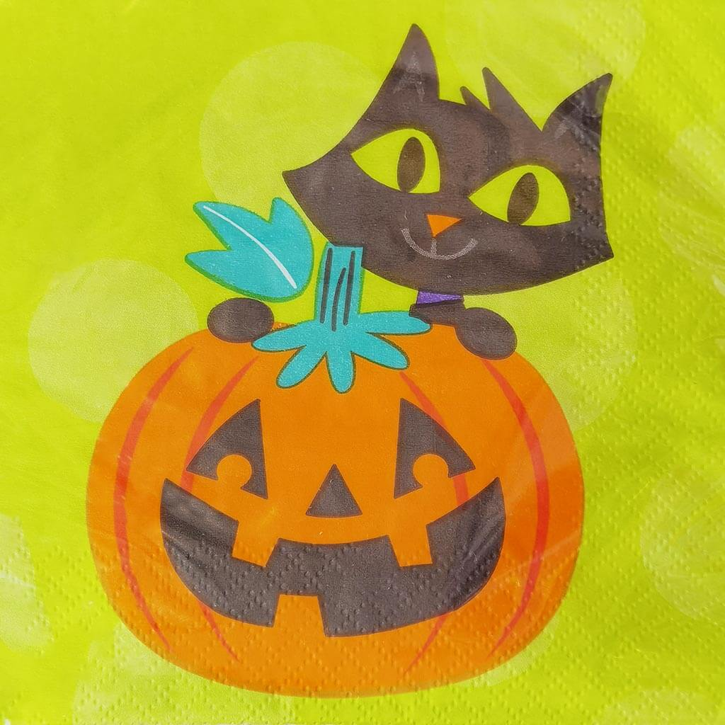 Friends of Halloween Beverage Napkins