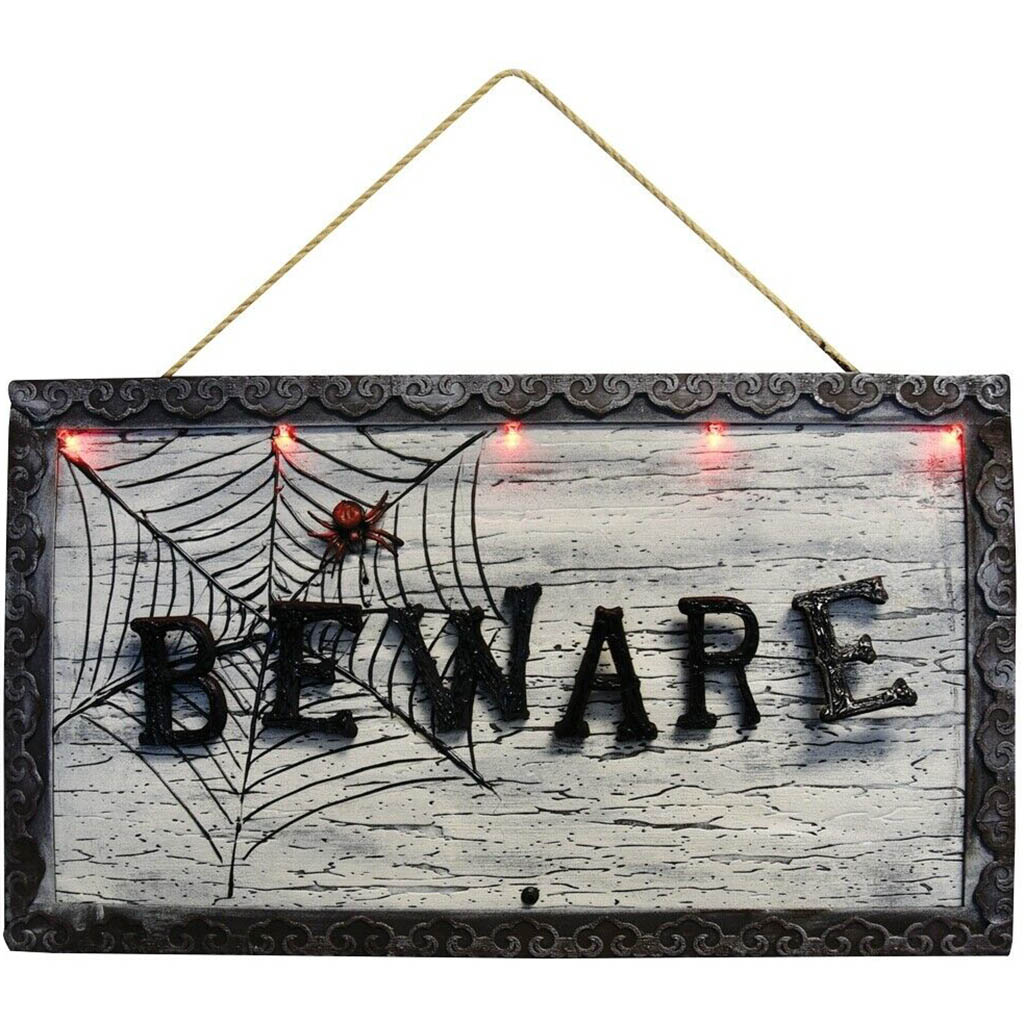 Animated Beware Sign