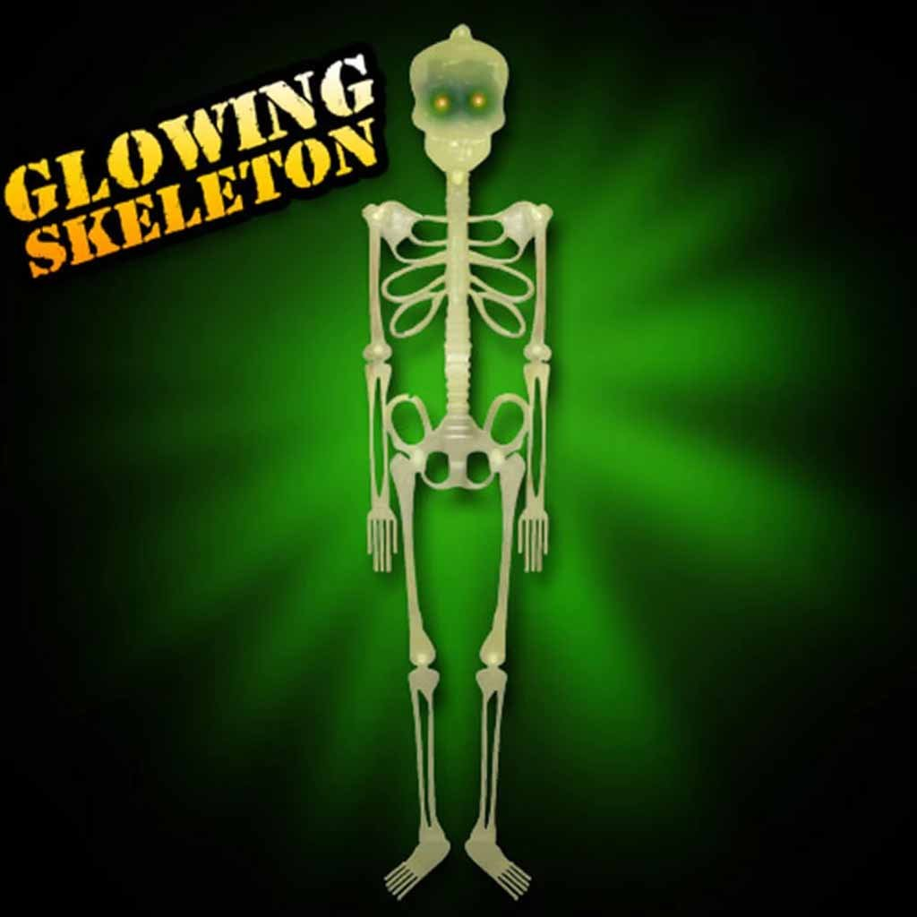 Halloween Glowing Skeleton 3ft