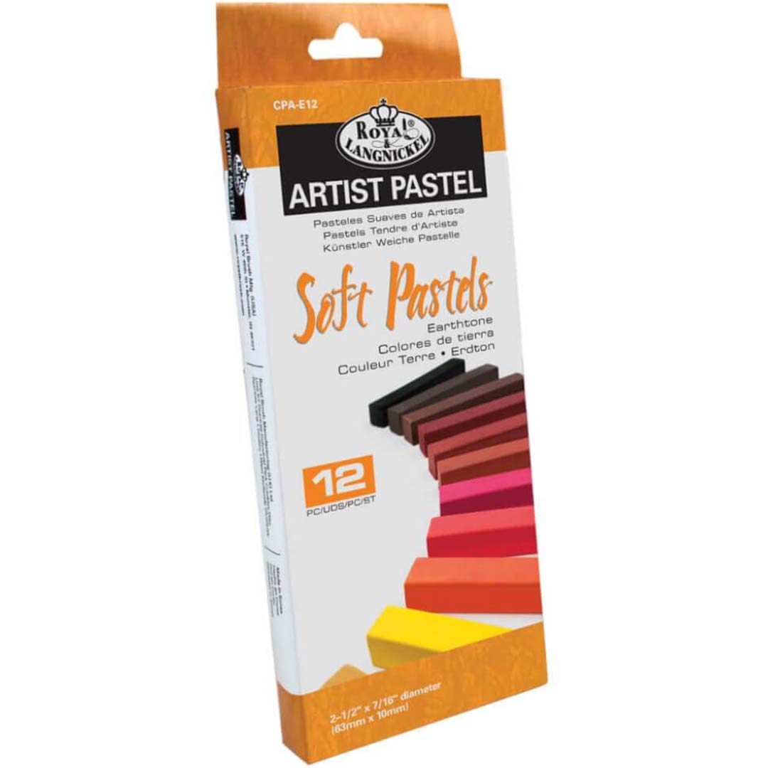 Earthtone Soft Pastel Pack 12pc