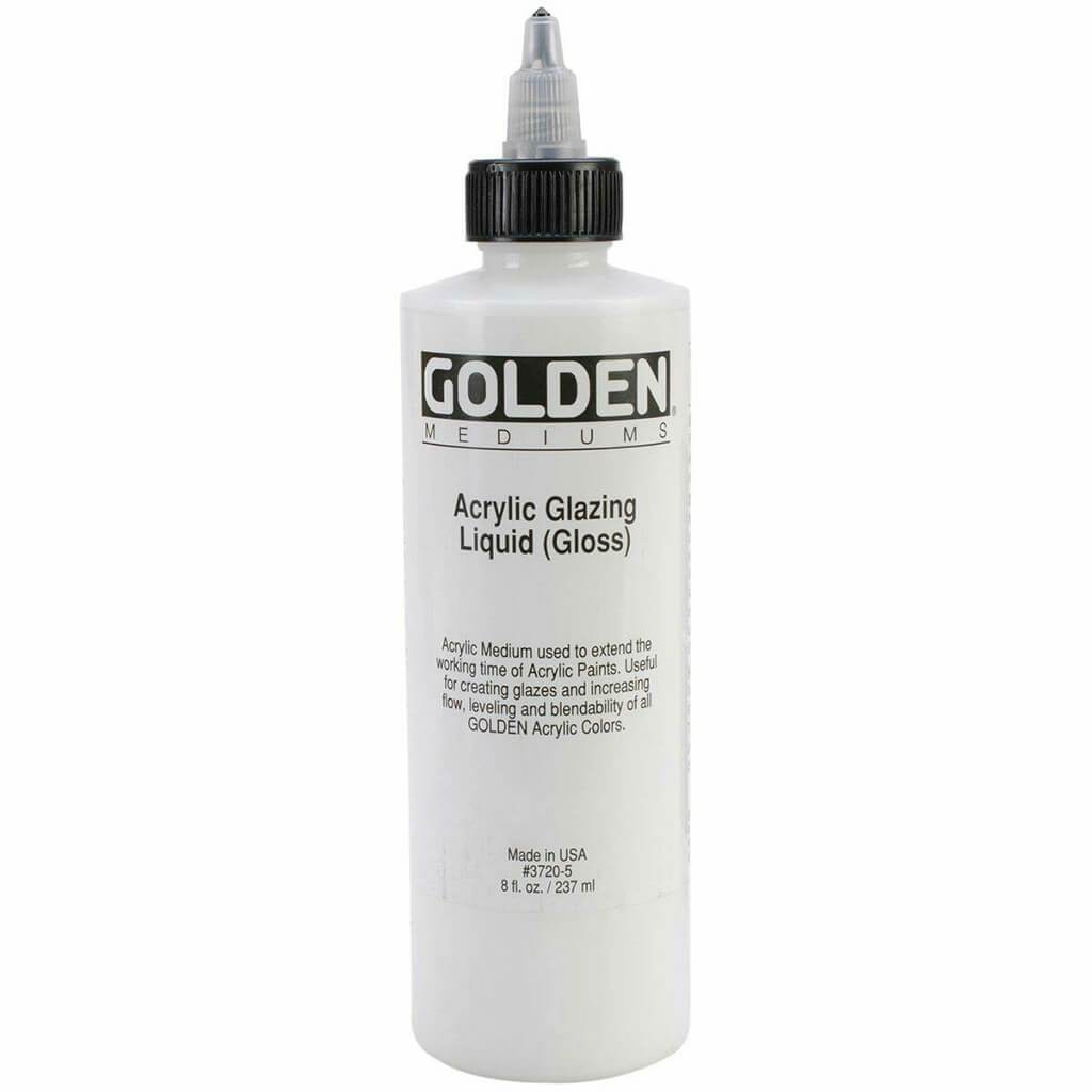 Golden Acrylic Glazing Liquid Gloss 8oz
