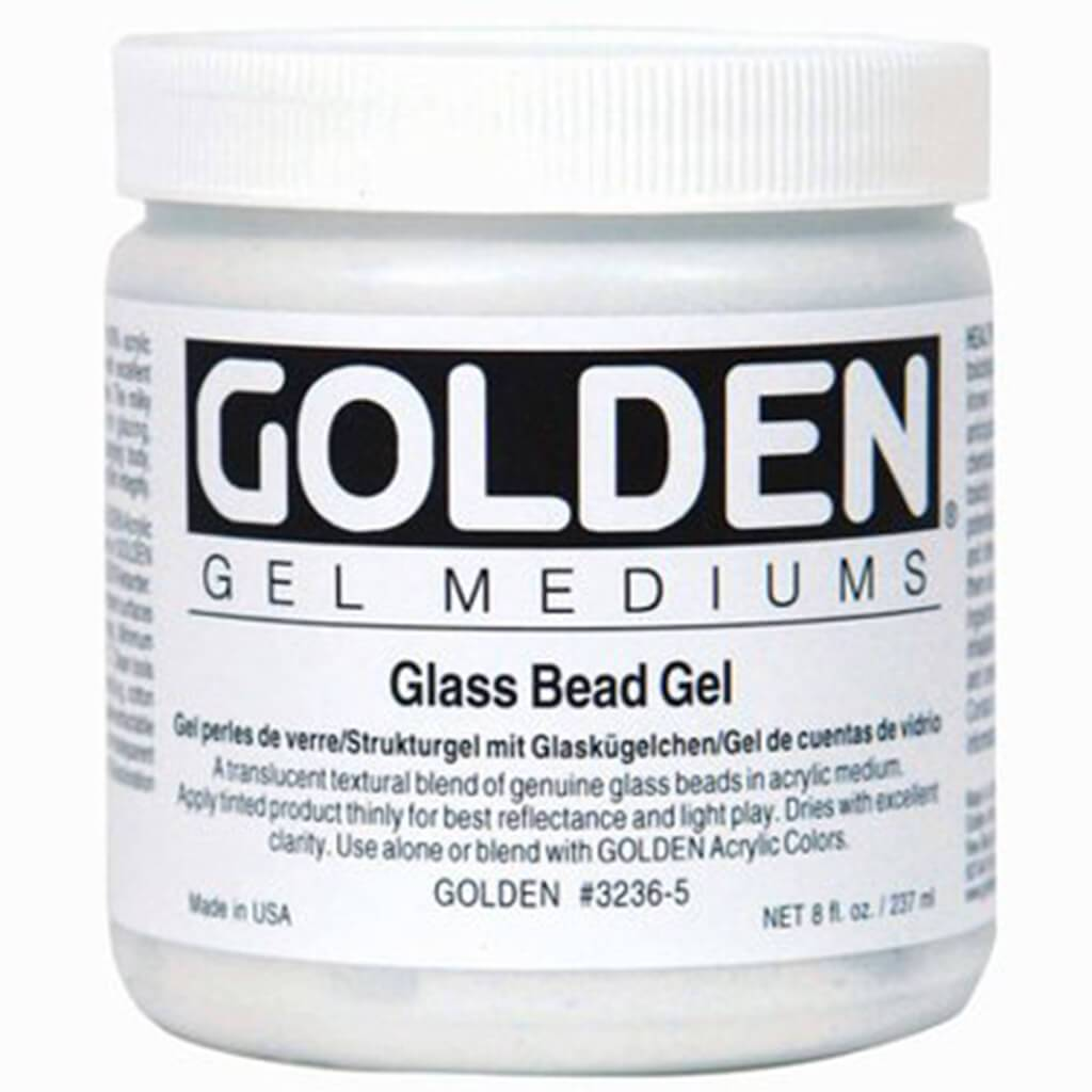 Acrylic Medium Glass Bead Gel 8oz