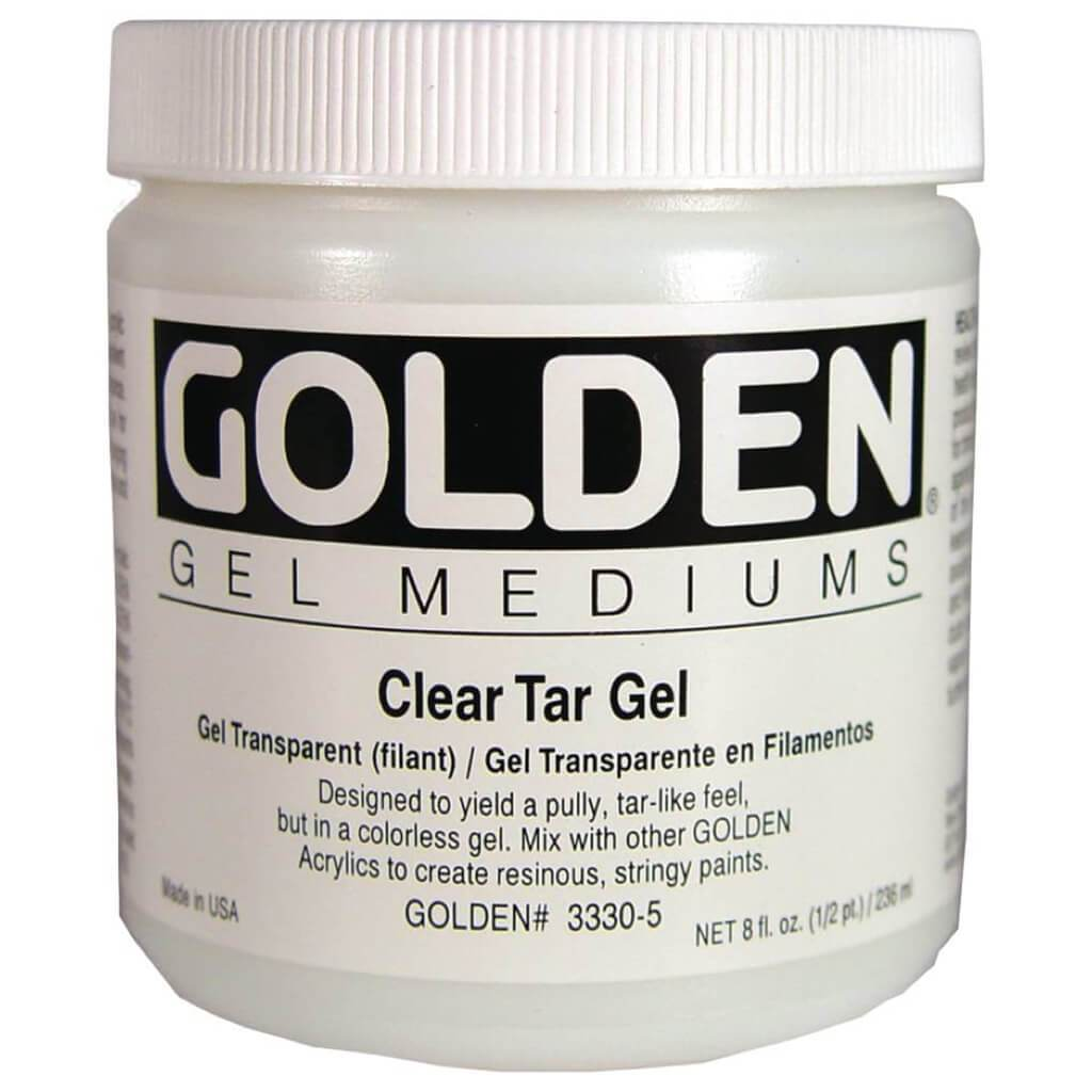 Acrylic Gel Medium Clear Tar