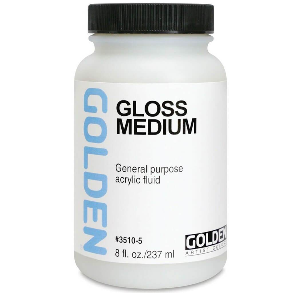 Polymer Medium Gloss 8oz