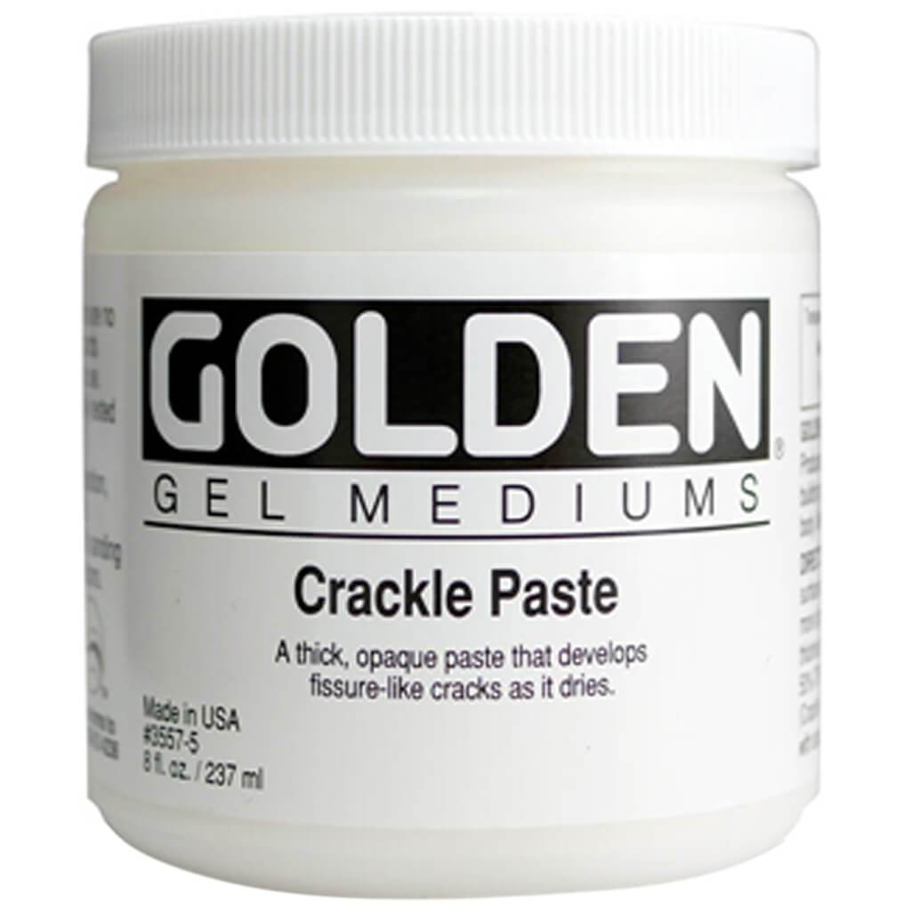 Crackle Paste Gel Mediums