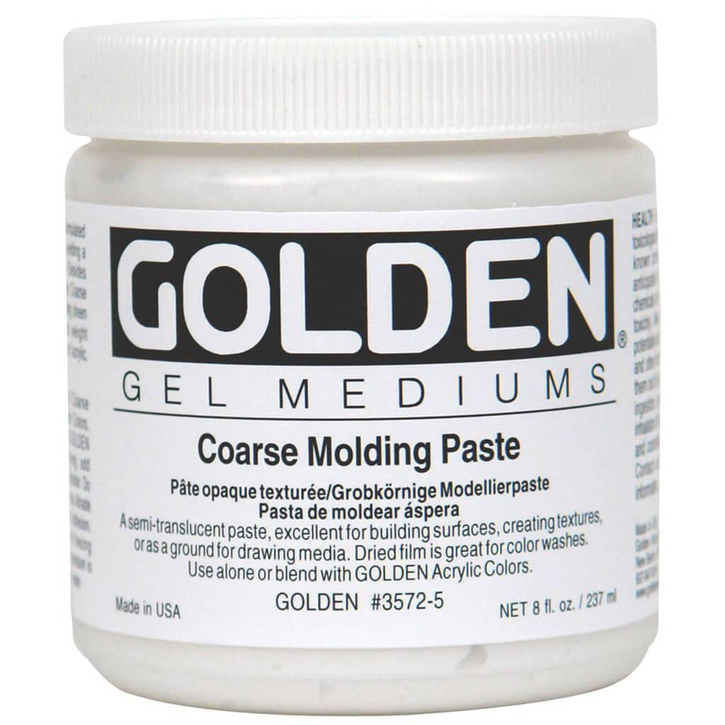 Molding Paste Medium Coarse 8oz