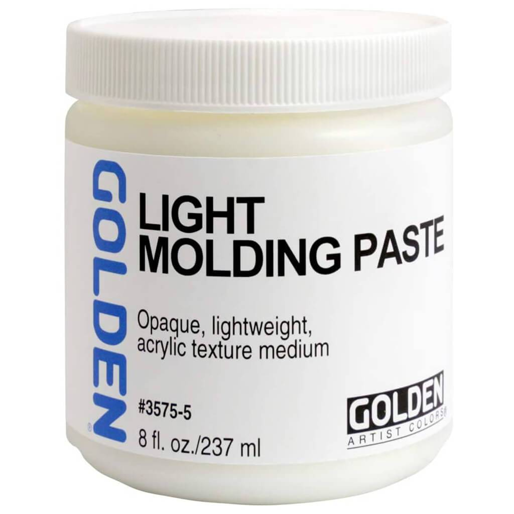 Light Molding Paste Medium