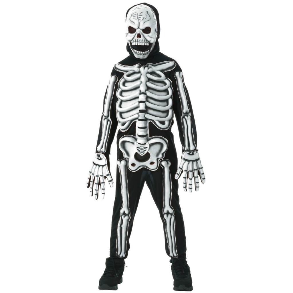 Glow In Dark Skeleton Costume