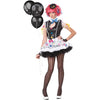 SASSIE THE CLOWN TEEN COSTUME