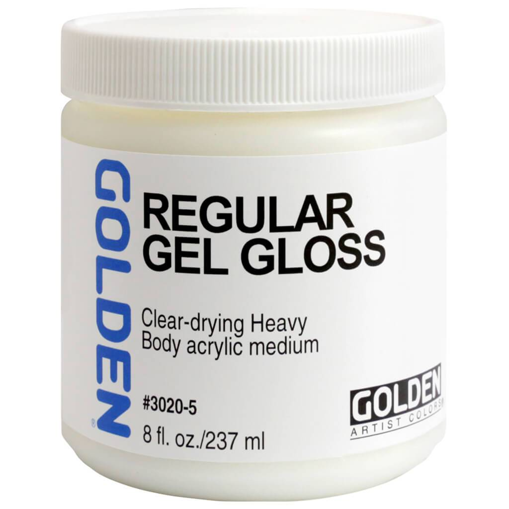 Regular Acrylic Gel Medium Gloss