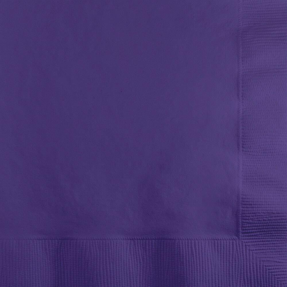 Beverage Napkins 3ply 50ct, Purple