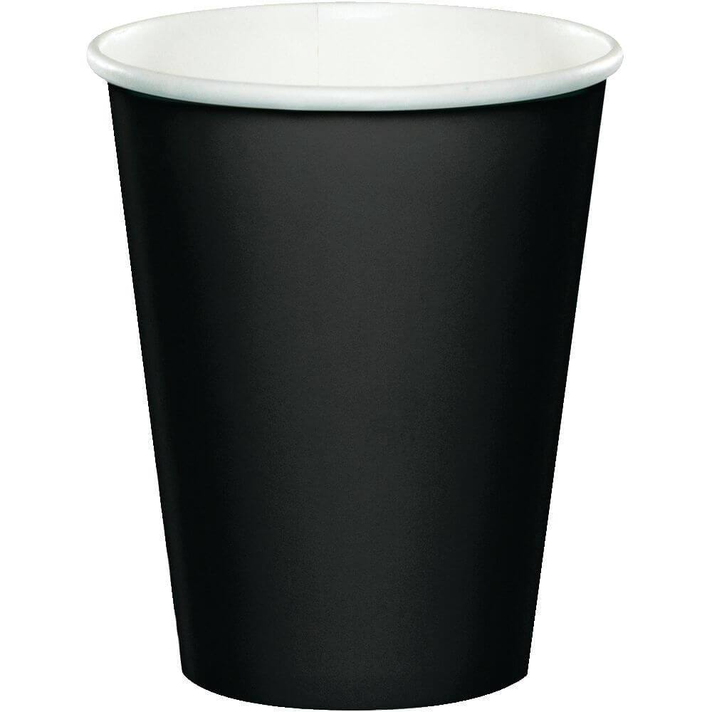 Black Velvet Paper Cups 9oz 24ct