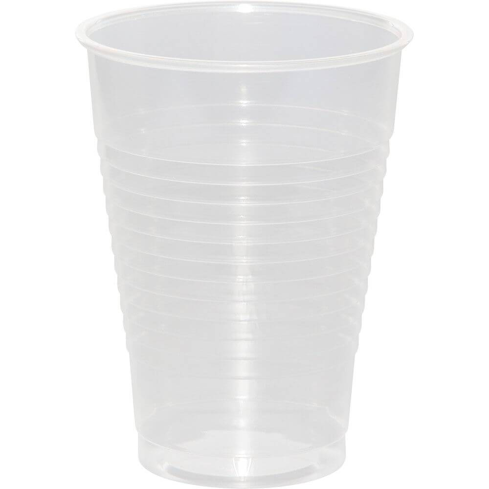 Plastic Cups 12oz 20ct, Clear