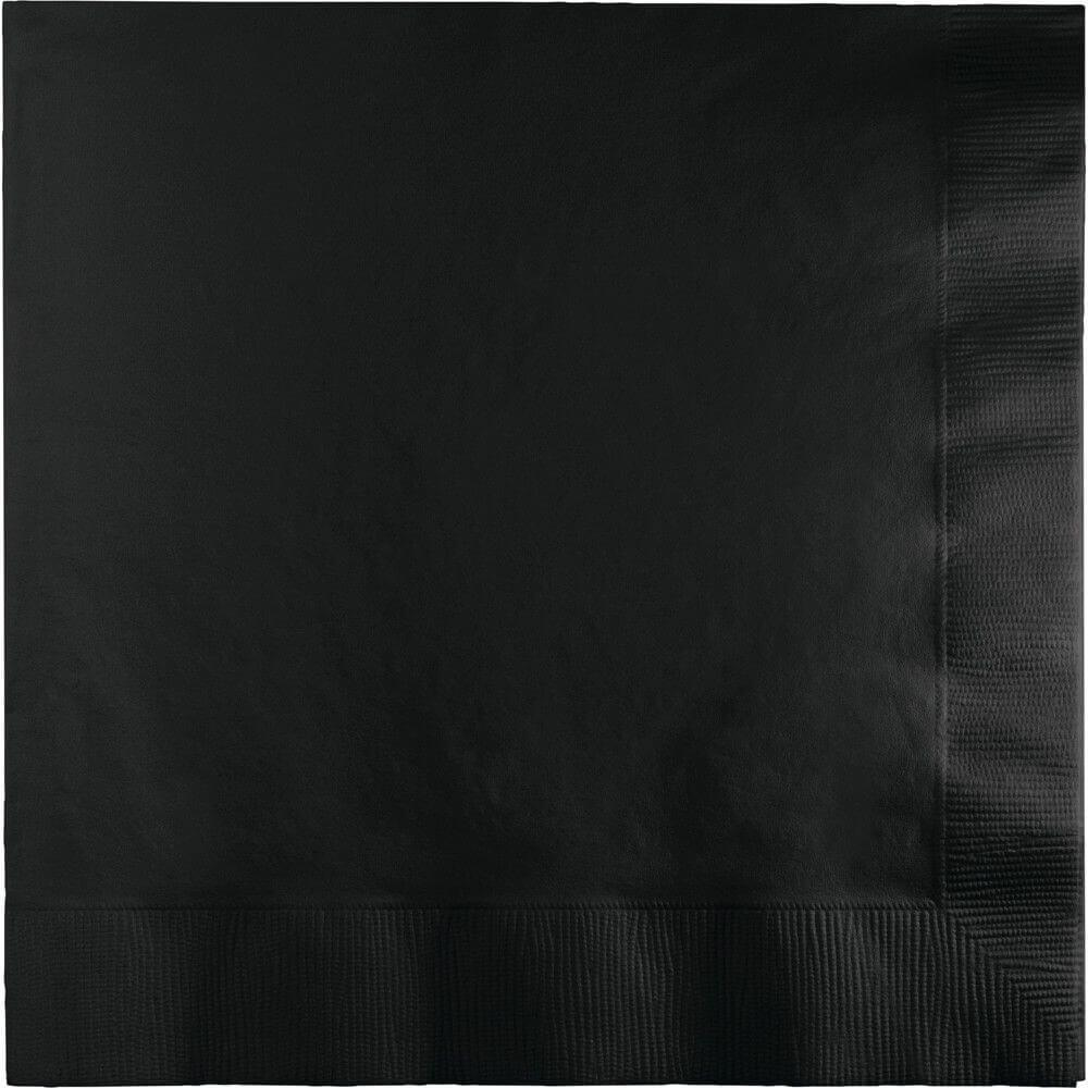 Black Velvet 3Ply Luncheon Napkins 50ct