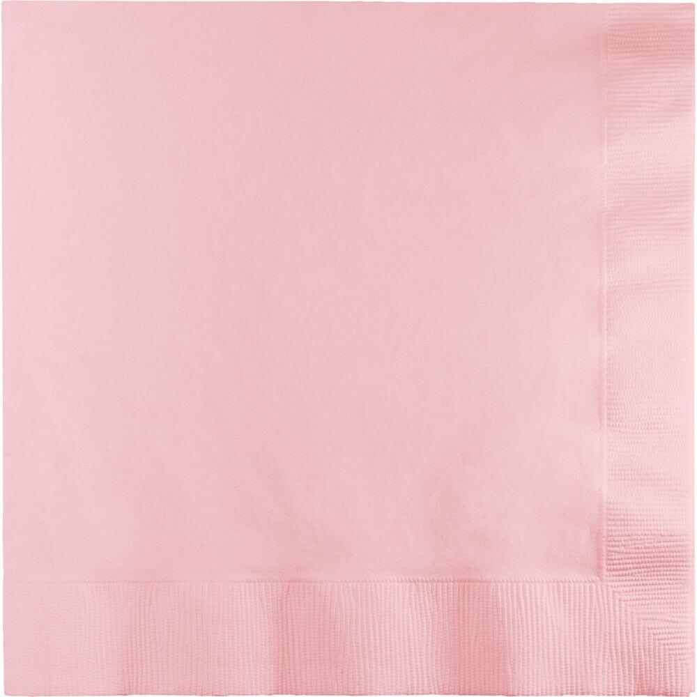 Luncheon Napkins 3ply 50ct, Classic Pink