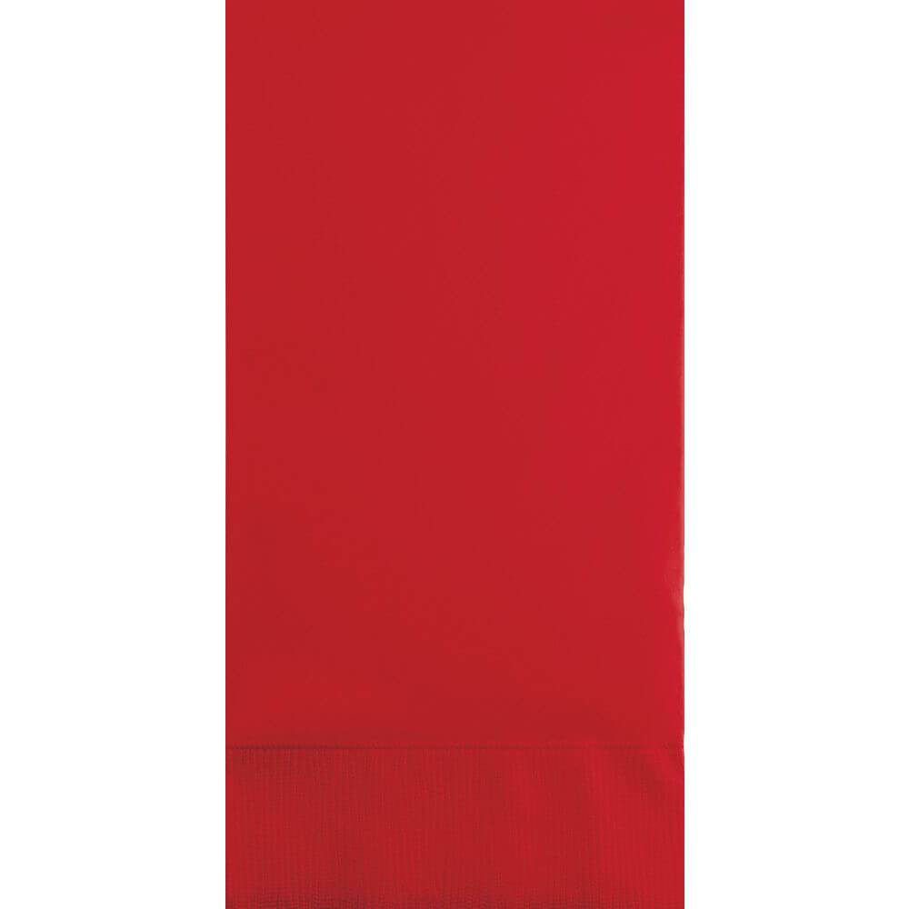 Classic Red 3ply Guest Napkins 16ct