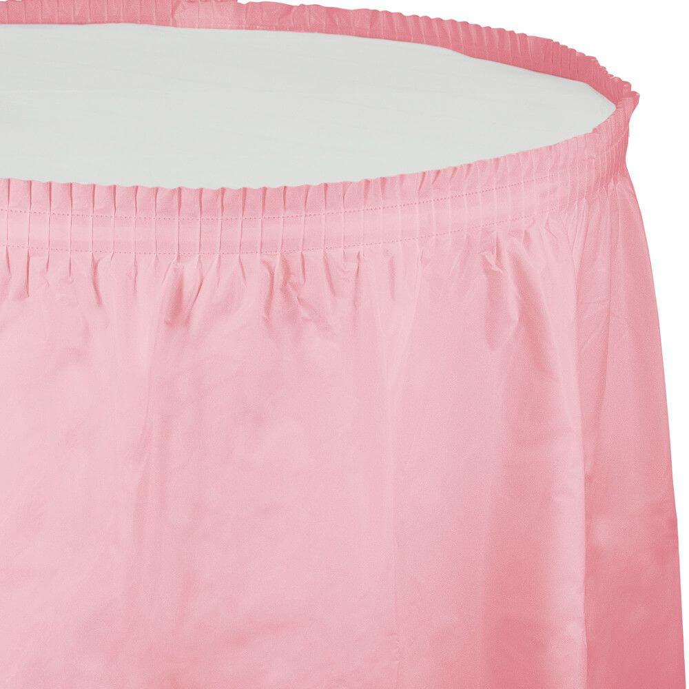Tableskirt 14ft, Classic Pink